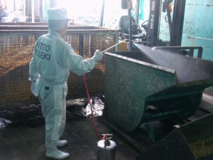 飲料工場の害虫駆除